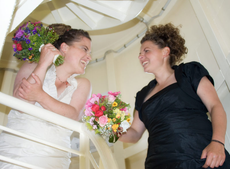 Brautpaar im Leuchtturm