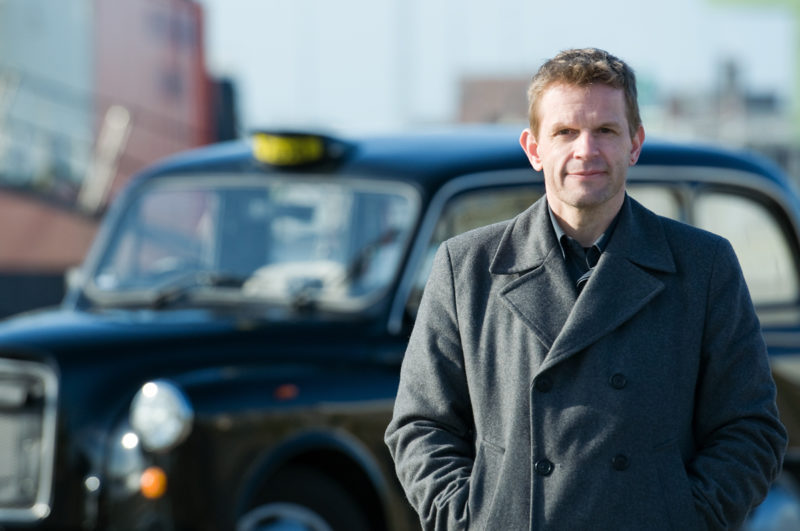 Taxiunternehmer Florian Palme