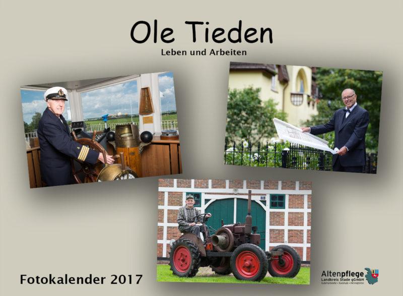 Fotokalender der Altenpflege im Landkreis Stade, Titelblatt
