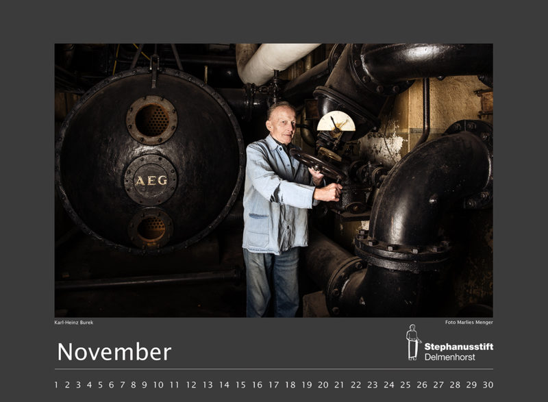 Fotokalender Stephanusstift, Novemberblatt