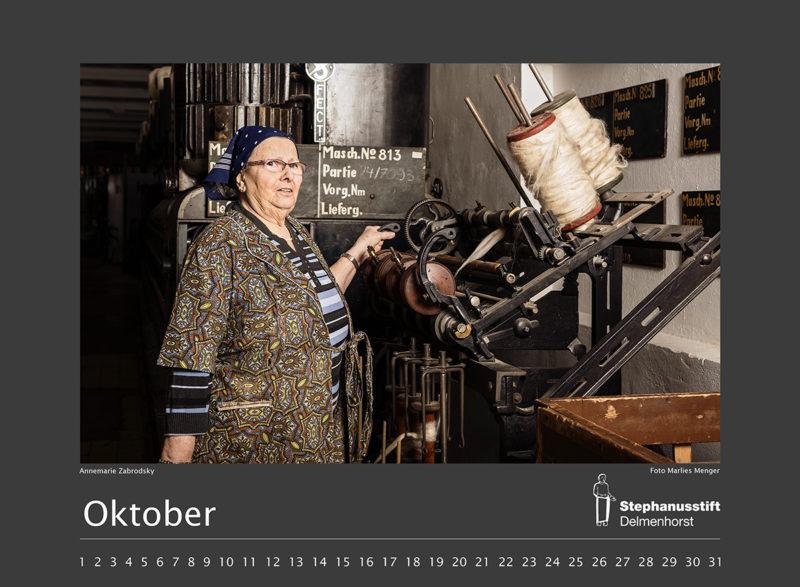 Fotokalender Stephanusstift, Oktoberblatt