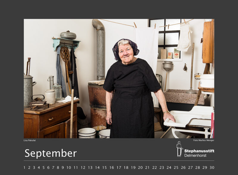 Fotokalender Stephanusstift, Septemberblatt