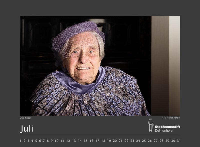 Fotokalender Stephanusstift, Juli