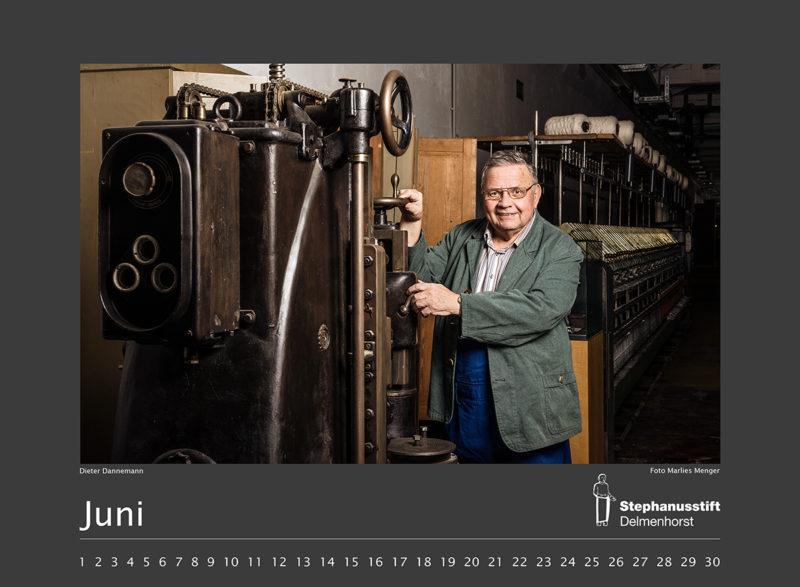 Fotokalender Stephanusstift, Juni