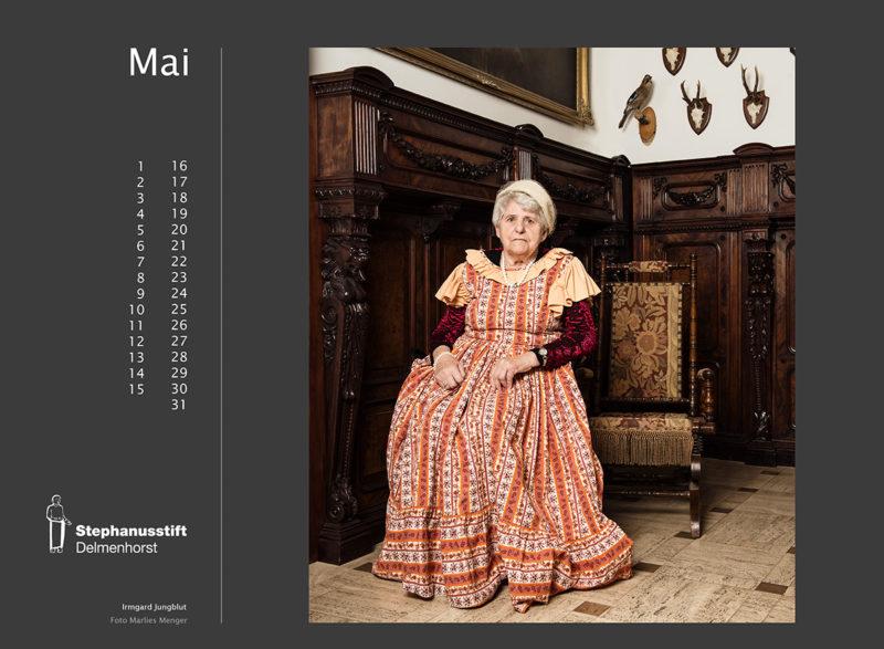 Fotokalender Stephanusstift, Mai