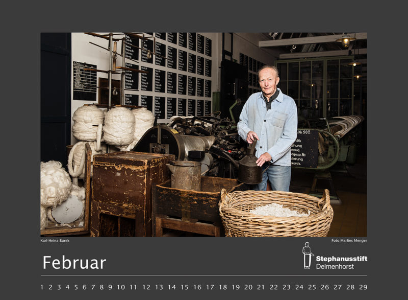 Fotokalender Stephanusstift, Februar