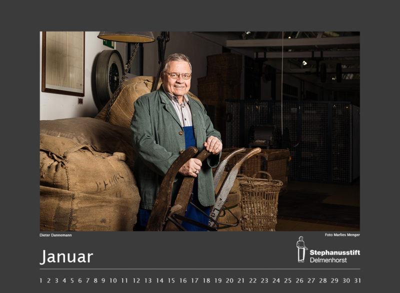 Fotokalender Stephanusstift, Januar